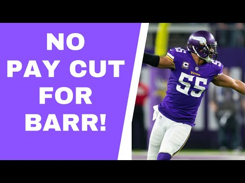 Anthony Barr won't restructure his contract with Minnesota Vikings