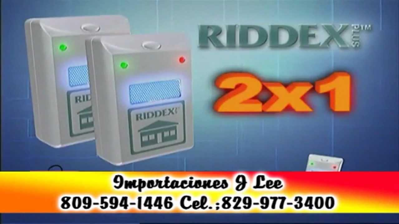 Riddex plus para auyentar las asquerosas ratas youtube - Mata cucarachas electrico ...