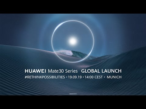 HUAWEI Mate 30 Series Global Launch