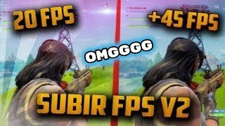 INCREASE FORTNITE FPS AT 144fps AND 240fps 100% REAL NON FAKE 2019
