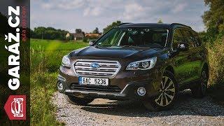 Subaru Outback 2.5i EyeSight - Test GARÁŽ.cz - Poctivé oldschool kombi