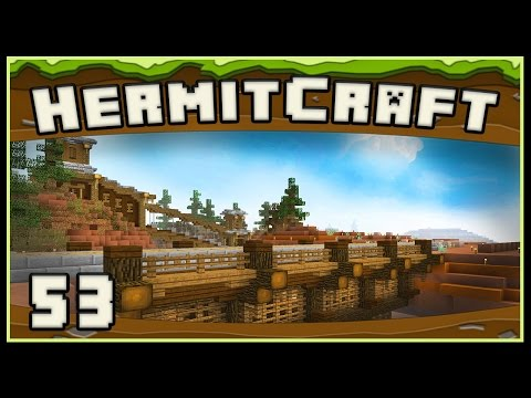 HermitCraft 4 - Minecraft: Starting The Railroad Project And Pranks
