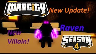 Mad City SEASON 4 New Villain And More! - Roblox