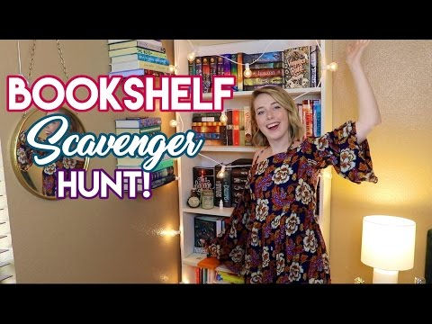 Bookshelf Scavenger Hunt!