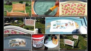 видео Реставрация кроватей