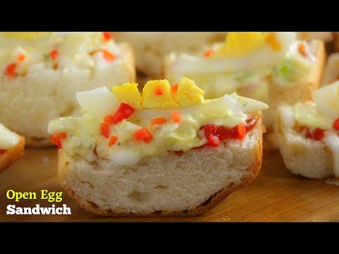 OPEN EGG SANDWICH|Quick & Easy Egg Sandwich|ఓపెన్ ఎగ్ శాండ్విచ్|రుచికరమైన ఎగ్ శాండ్విచ్|VismaiFo