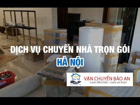 Dịch vụ chuyển nhà trọn gói Hà Nội uy tín, giá rẻ Bảo An
