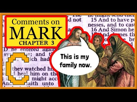 Bible Study on the Gospel of Mark: Chapter 3