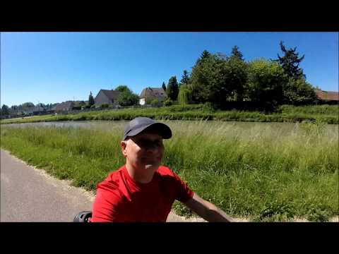 Eurovelo 6 Loire Valley France cycle camping day 1 and 2. Nevers to Blois
