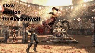 how to fix Mortal Kombat Komplete Edition  Slow Motion HD