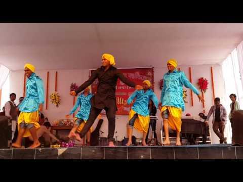 Punjabi bhangra Kalyan college dance