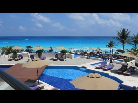Grand Oasis Sens, Cancun Mexico, All The Tour In 5 Minutes 2018 HD