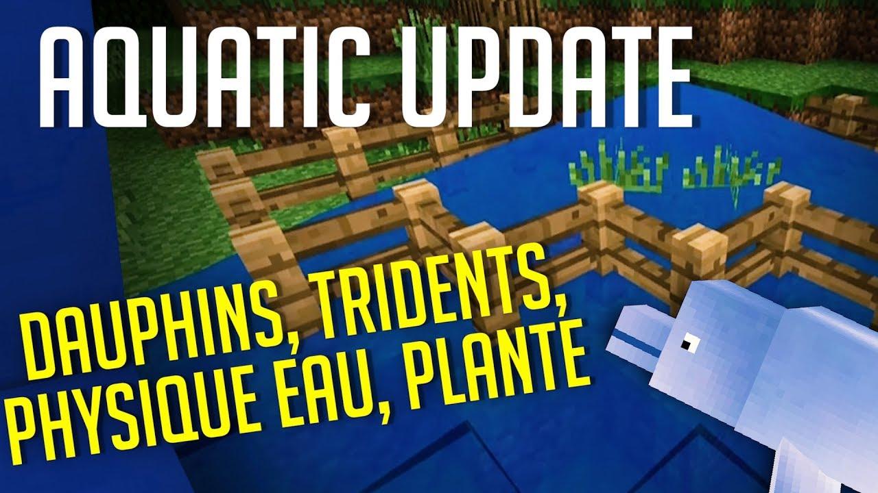 minecraft aquatic update infos minecon youtube