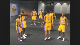 NBA Live 2002 - Wizards vs Lakers