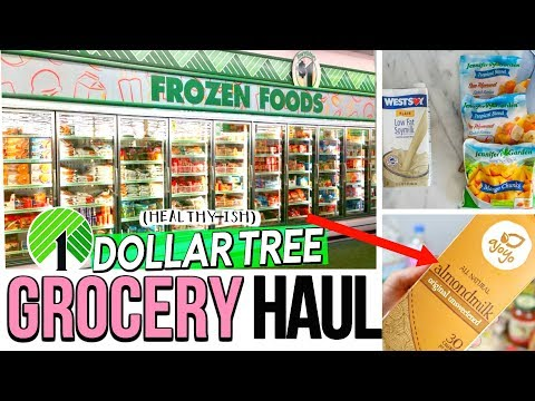 Dollar Tree Grocery Haul 2017! Healthier Foods To Buy At