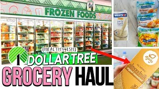DOLLAR TREE GROCERY HAUL 2017! HEALTHIER FOODS TO BUY AT THE DOLLAR STORE  | Sensational Finds