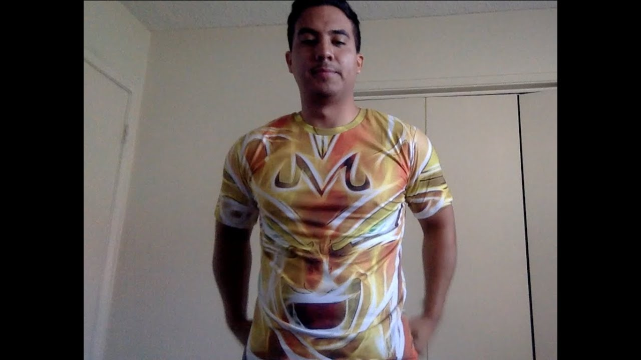 Asian size XXL vs US size M - Dragon Ball Z Vegeta shirt ...