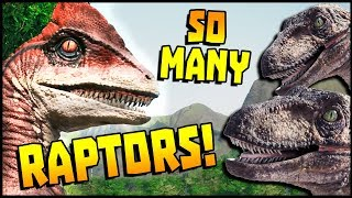 So Many Raptors & Terrifying Things To Come! | Jurassic World Evolution Gameplay (Part 5)
