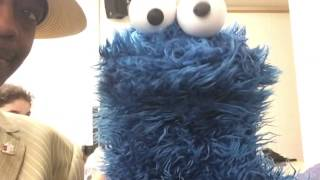 Cookie Monster Meets Mr. Jones