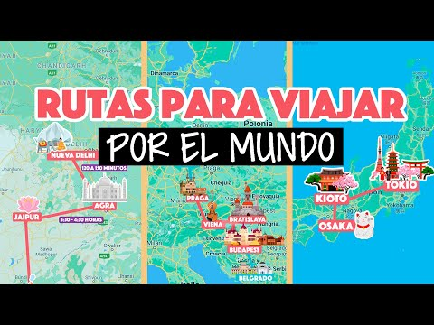8 rutas para viajar por el mundo con precios
