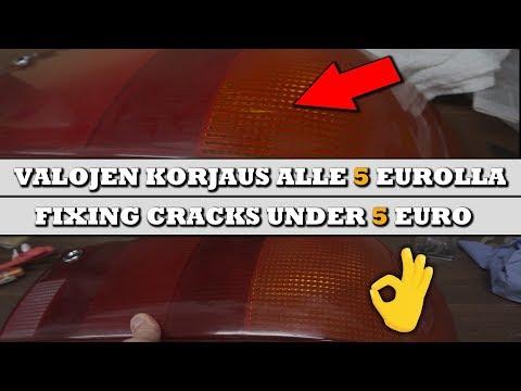 Valojen korjaus alle 5 EUROLLA - Audi S2 ep20