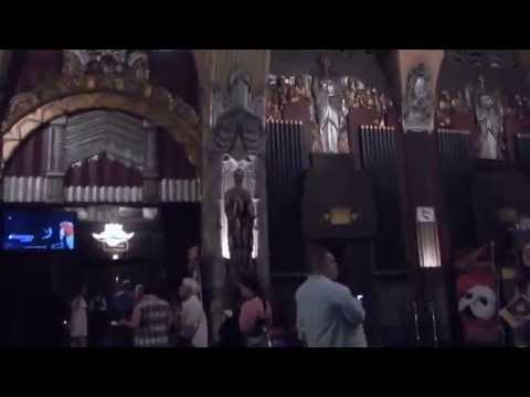Pantages Theatre ( Phantom of Opera ) in Hollywood 2015