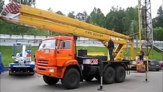 видео Продажа автовышек на шасси КАМАЗ 43253 АПТ-22. завод спецтехники НижСпецАвто