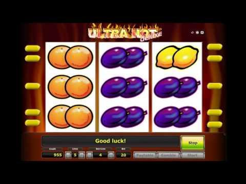 Как играть в игровой автомат Ultra Hot Deluxe. Обучающее видео.