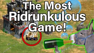 The Most Ridrunkulous AoE2 Game!