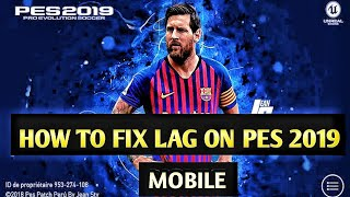 Pes mobile 2019 graphics issue fix