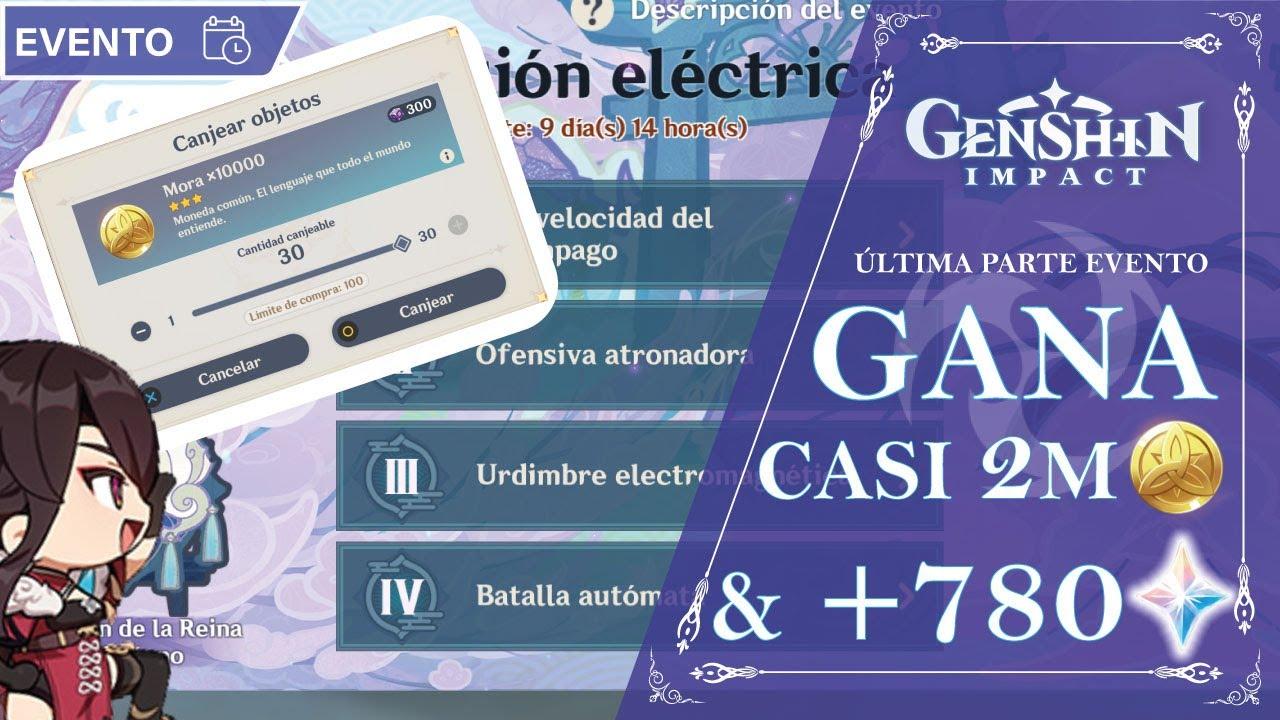 NUEVO EVENTO: CASI 2 MILLONES DE MORA +780 PROTOS!!! | Genshin Impact