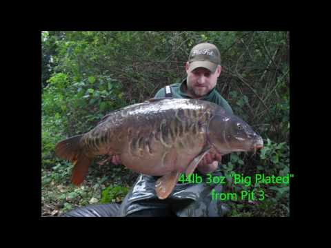 Frimley Pits Fishery 2014-2016 Captures.