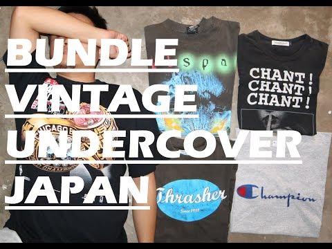 Bundle Vintage Undercover Japan