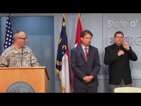 Governor Pat McCrory reappoints Major General Gregory A  Lusk  TAG