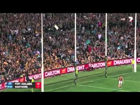 AFL- Chad Wingard vs Cyril Rioli