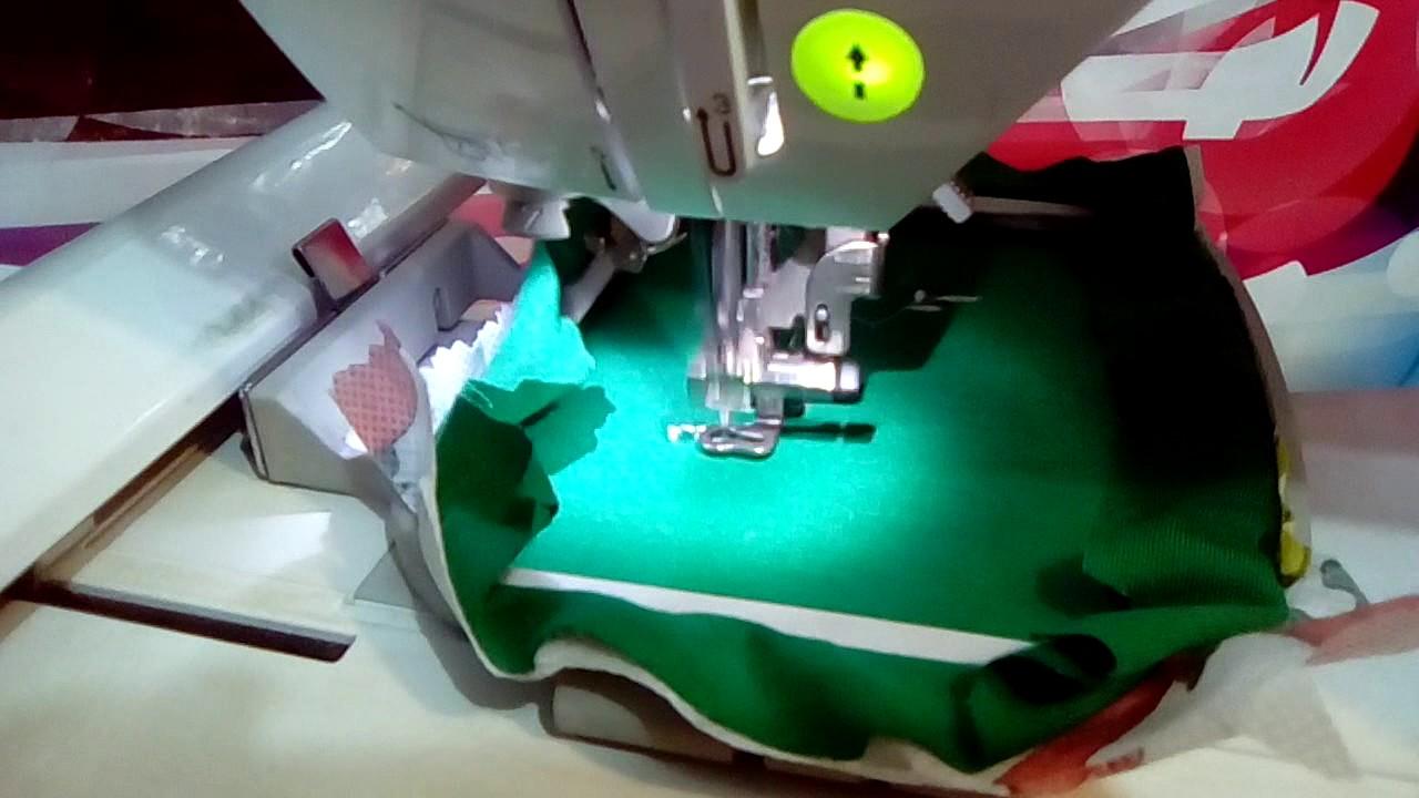 eea36fb2af621 Brother PE 770 Bordando Maquina de costura bordar - YouTube