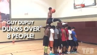 Guy Dupuy DUNKS over 8 PEOPLE! #SCTop10 Video