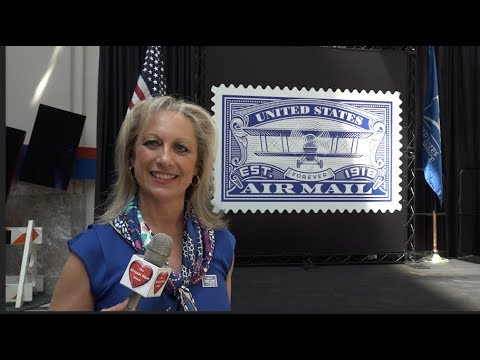 USPS Celebrates 100th Anniversary Of United States Air Mail Service