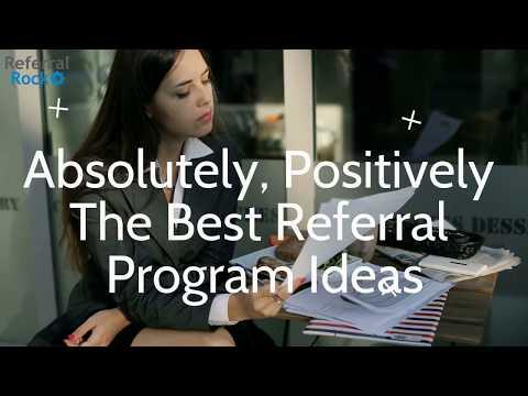 Referral Program Ideas