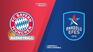 FC Bayern Munich - Anadolu Efes Istanbul Highlights | Turkish Airlines EuroLeague, RS Round 25