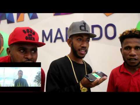 Sio Ado (Mnukwar Hip-Hop) - Street Reactions In Manado