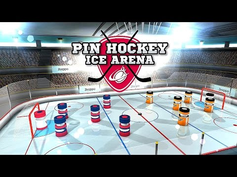 Pin Hockey - Ice Arena - Android Gameplay