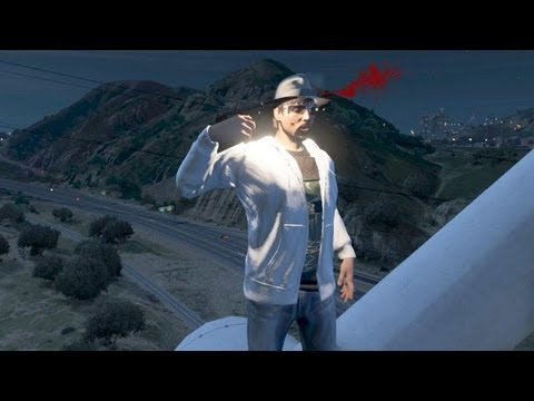 GTA 5 Funny Moment (Shadowbeatz Commits Suicide On GTA Online)