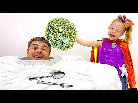 Nastya And Funny Cases With Daddy