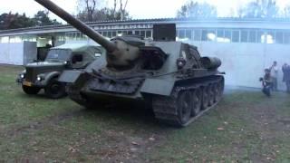 Su-100 i T-34 z Poznania www.dobroni.pl