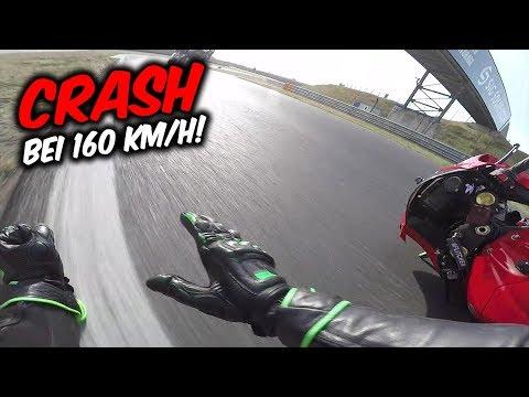 Crash bei 160 KM/H - Mein Unfall