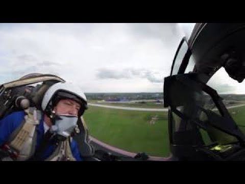 Speed festival 360: Racing cars challenge jets at MAKS 2017 salon