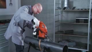 Kernbohren mit FEIN: Bohren in Metallrohre