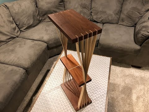 Bent Lamination End Table