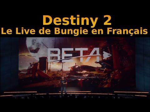 Destiny 2 : Le live de Los Angeles en Français !